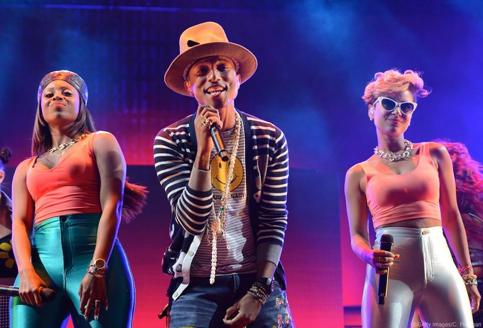 Luego del incidente de Elle, Pharrell Williams volverá a su típico sombrero
