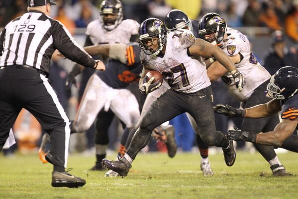 El Concreto- Ray Rice, número 27 y ex Baltimore Ravens