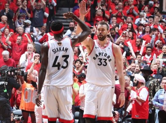 Los Raptors campeones de la NBA ante Golden State Warriors